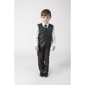 Boys Suits 4 Piece Waistcoat Suit  4 Colours (HP1) BUY OR HIRE from just £10.99