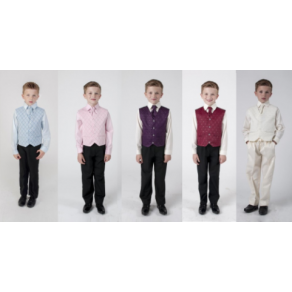 4 PIECE DOBBY SUIT - MANY COLOURS (HP1)- BUY OR HIRE from just £10.99