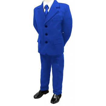 5 Piece Royal Blue Suit- BUY OR HIRE from just £10.99