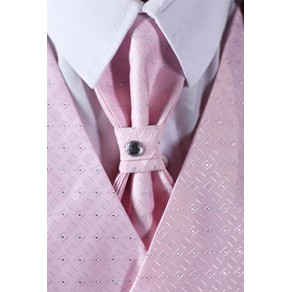 5 Piece Black Suit (Pink Waistcoat) BUY or HIRE from just 10.99