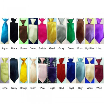 Elasticated Ties - Various Colours and Styles