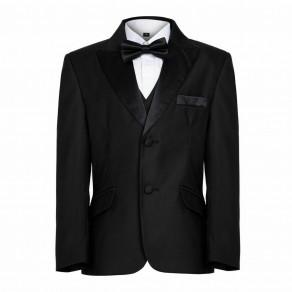 Boys Black Tuxedo Suit