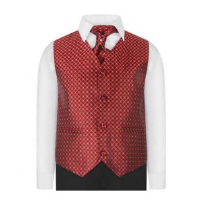 Boys Waistcoat Suit in Blue / Black / Red / Purple 1 - 15 years £39.99