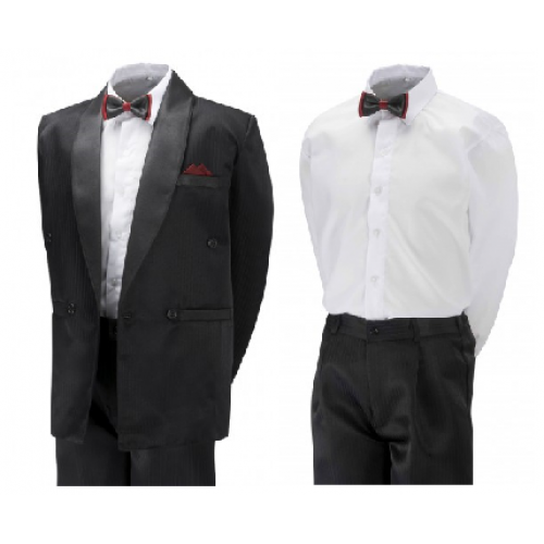 401e43a20180 Boys & Mens TUXEDO -Black/Cream/White- BUY OR HIRE from just £10.99 and  £15.99 for mens suit (with full refundable deposit)