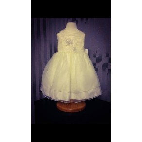 HP3 Belle Ivory and White Dress