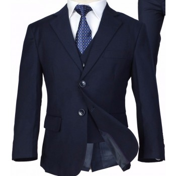5 Piece Deep Blue/ Navy, Black, Grey Suit- HIRE from just £10.99 or buy from 22.99
