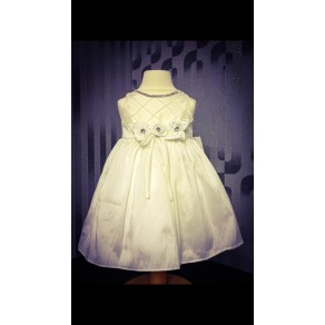 HP3 Heather Ivory and White Dress