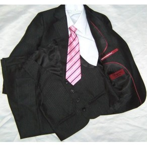 HP2 9389 Striped 5 Piece Suit  BUY OR HIRE from just £10.99