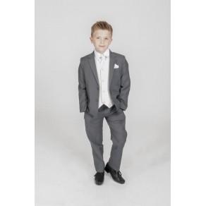 HP1 {5PC GREY DIAMOND SUIT IN IVORY} BUY OR HIRE from just £10.99