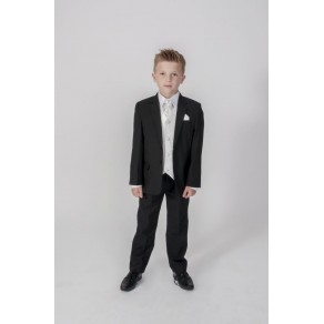 HP1 {5PC BLACK DIAMOND SUIT IN IVORY}  BUY OR HIRE from just £10.99