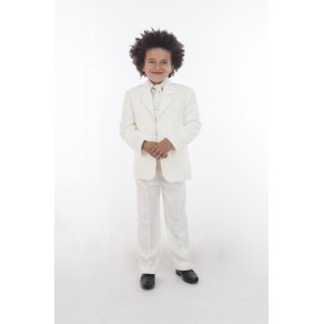 HP1    {5PC ALL CREAM DIAMOND SUIT} BUY OR HIRE from just £10.99