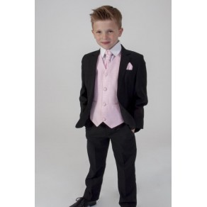 5PC BLACK DIAMOND SUIT IN PINK (HP1)