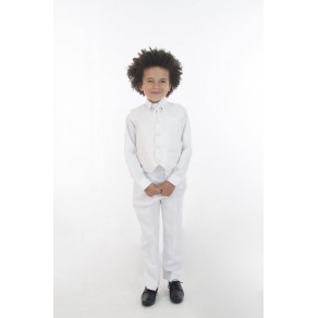 4PC ALL WHITE DIAMOND SUIT (HP1) BUY OR HIRE from just £10.99