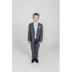 5PC GREY DIAMOND SUIT IN BLUE (HP1) BUY OR HIRE from just £10.99