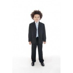 5 PIECE DOBBY SUIT IN BLUE (HP1) BUY OR HIRE from just £10.99