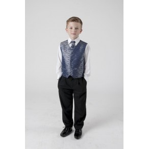 4 PIECE SWIRL SUIT IN NAVY (HP1) BUY OR HIRE from just £10.99