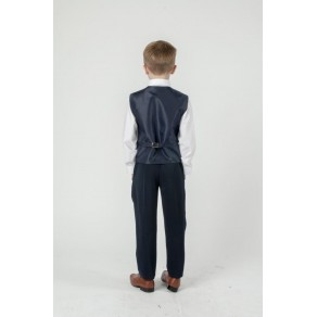 5 PIECE SLIM FIT SUIT 6 months-  15 Years-  BLACK/  GRAY/  NAVY/  BUY OR HIRE from just £10.99