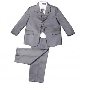 5 PIECE SHINY SUIT IN GREY (HP1) BUY OR HIRE from just £10.99