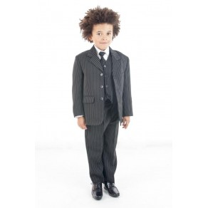 5 PIECE PINSTRIPE SUIT (HP1)