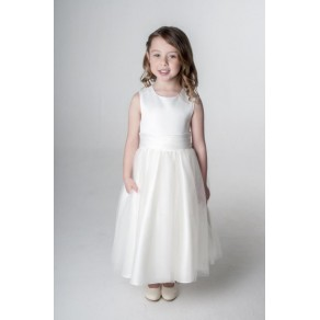 SASH DRESS IN IVORY V353 (HP1) BUY OR HIRE from just £10.99