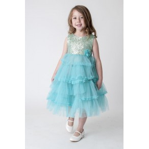 AQUA TULLE DRESS V350 (HP1)  BUY OR HIRE from just £10.99
