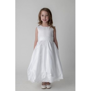 ROSEBUD DRESS IN WHITE W325 (HP1) BUY OR HIRE from just £10.99