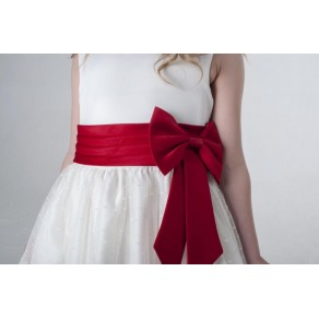 BOW DRESS IN RED V340 (HP1) BUY OR HIRE from just £10.99