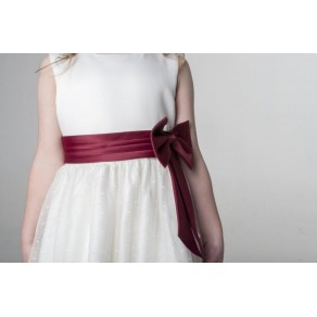 BOW DRESS IN WINE V340 (HP1) BUY OR HIRE from just £10.99