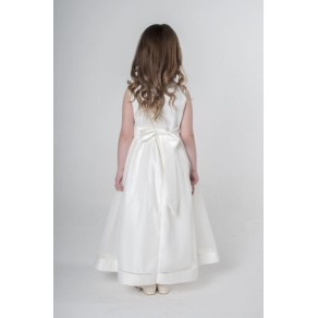 BOW DRESS IN IVORY V340 (HP1)  BUY OR HIRE from just £10.99