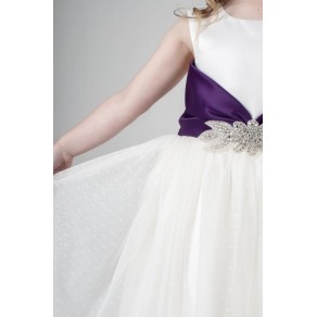 BROACH DRESS IN PURPLE V341 (HP1) -BUY OR HIRE from just £10.99