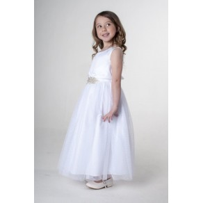 BROACH DRESS IN WHITE V341 (HP1) BUY OR HIRE from just £10.99