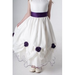 ROSEBUD DRESS IN PURPLE W325 (HP1) BUY OR HIRE from just £10.99