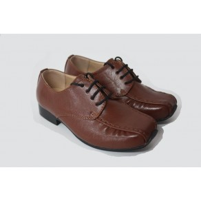 BOYS HARRY SHOES IN BROWN (HP1)