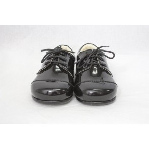 BOYS EARLY STEPS ROYAL SHOES IN BLACK (HP1)