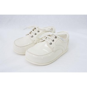 BOYS EARLY STEPS ROYAL SHOES IN CREAM (HP1)