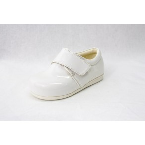 BOYS EARLY STEPS PRINCE SHOES IN WHITE (HP1)