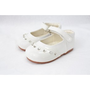 GIRLS EARLY STEPS FAIRY SHOES IN WHITE (HP1)