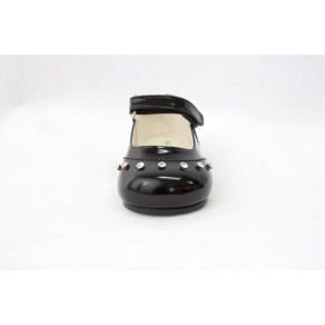 GIRLS EARLY STEPS FAIRY SHOES IN BLACK (HP1)