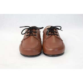 BOYS EARLY STEPS ROYAL SHOES IN BROWN (HP1)