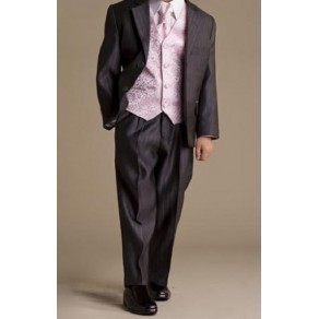 HP3 (Marcel Lorenza 5 Piece Black Pinstripe Suit with Gold Waistcoat & Cravat) BUY OR HIRE from just £10.99