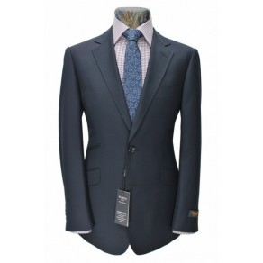 Prince Edward4- Mens NAVY 2-Button Slim Fit Suit- BUY OR HIRE from just £15.99