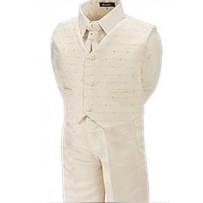 Oliver Cream Boys Wedding Suit