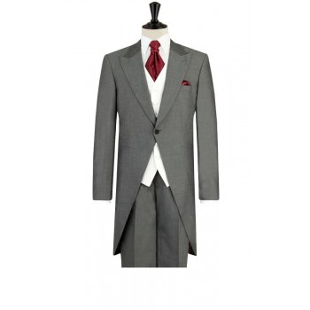 Prince William2 Mens Silver Grey Morning Suit with Grey Trousers- HIRE from just £15.99 (with full refundable deposit)
