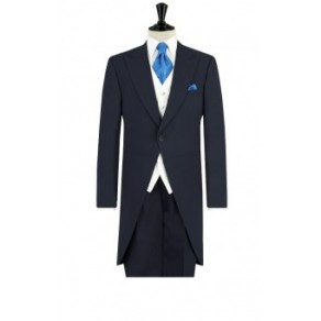 Prince William3 Mens Navy Blue Morning Suit with Matching Trousers- BUY OR HIRE from just £15.99