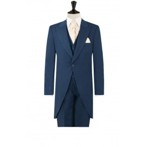 Prince William4 Mens Royal Blue Morning Suit with Matching Trousers- BUY OR HIRE from just £15.99