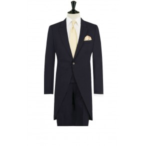 Prince William6 Navy Blue Tailored Fit Morning Suit with Matching Trousers- HIRE from just £15.99 (with full refundable deposit)
