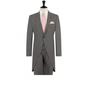 Prince William7 Grey Tailored Fit Morning Suit with Matching Trousers- BUY OR HIRE from just £15.99